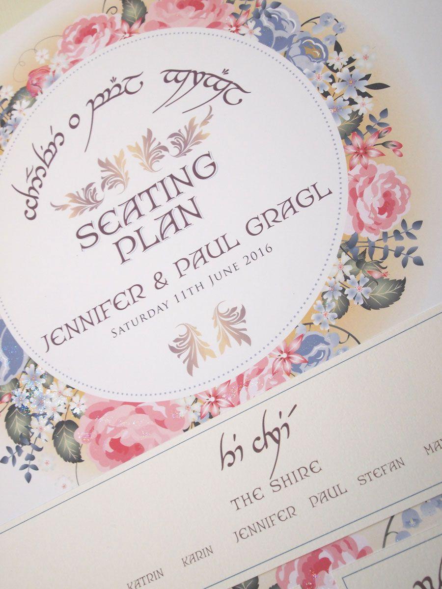 Elvish_Seating_plan_bluepink2.jpg (900×1200) | Perfect Wedding ...