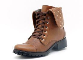 747d5f87d4 Bota Atron Shoes Cano Curto Marrom