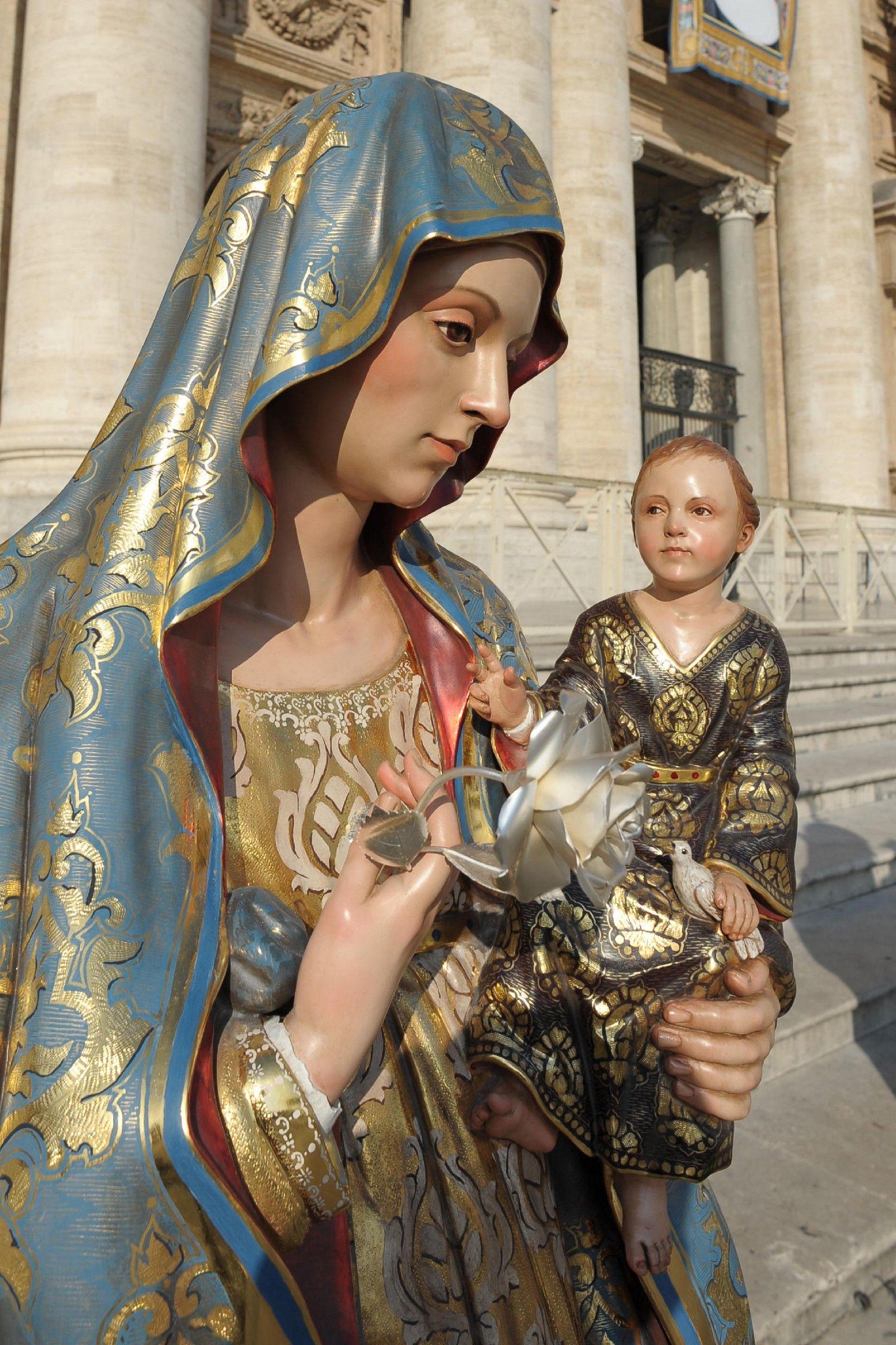 Sta Maria Antigua Panama Perfil Fondo Holy Mary Mother Of God