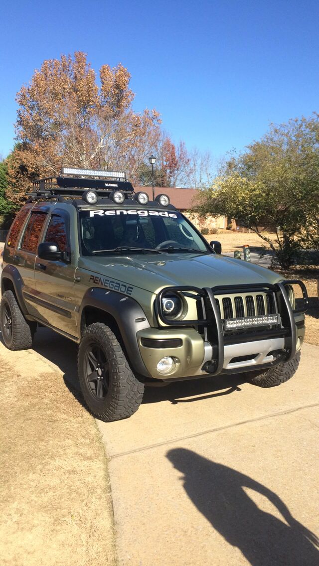 2002 Jeep Liberty Renegade Jeep Liberty Renegade Jeep Liberty