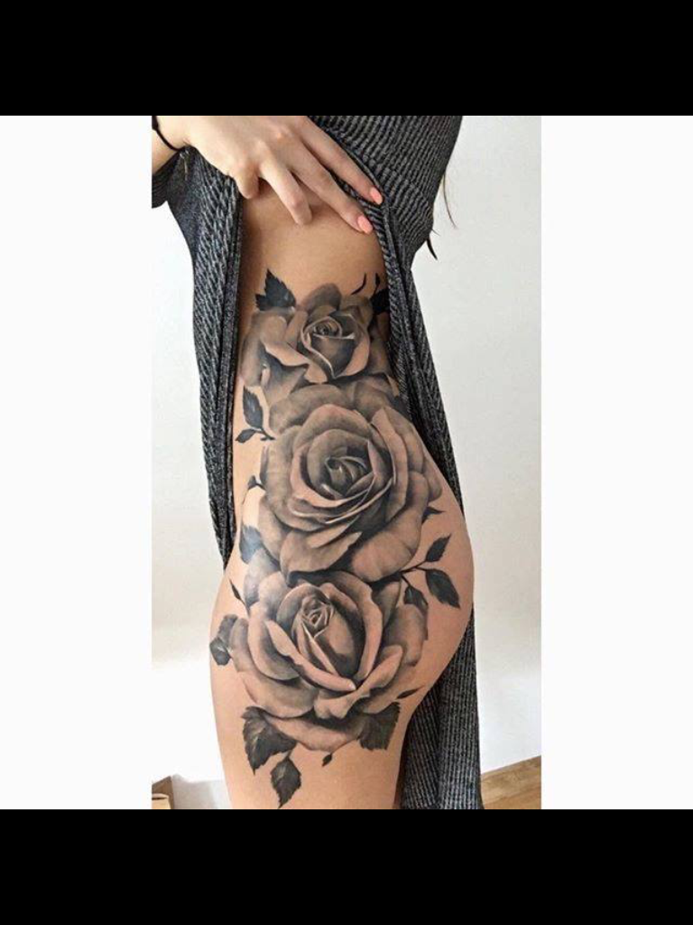Rose Hip Tattoo Tattoos Pinterest