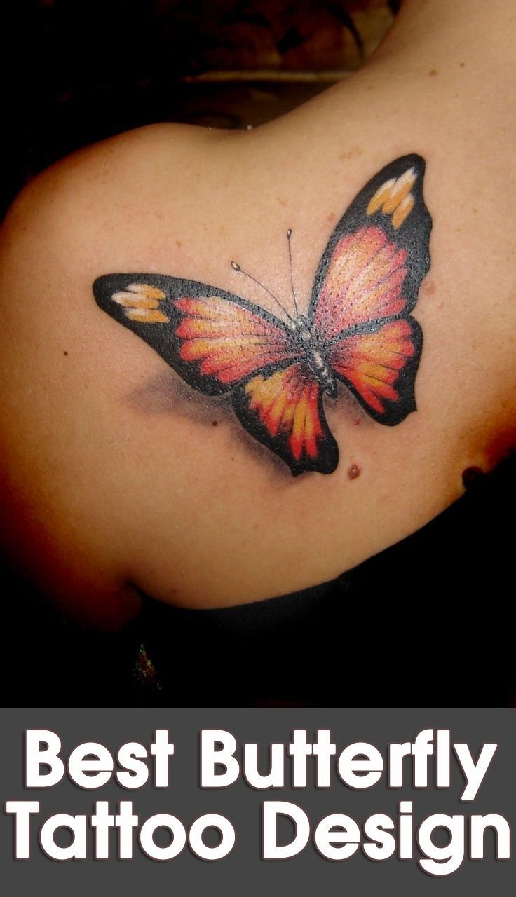 Gorgeous Butterfly Tattoo Designs Butterfly tattoo designs