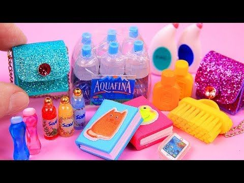 14 DIY Barbie miniatures #barbiefurniture
