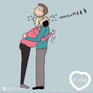 Ilustraciones divertidas (y realistas) del día a día de una embarazada