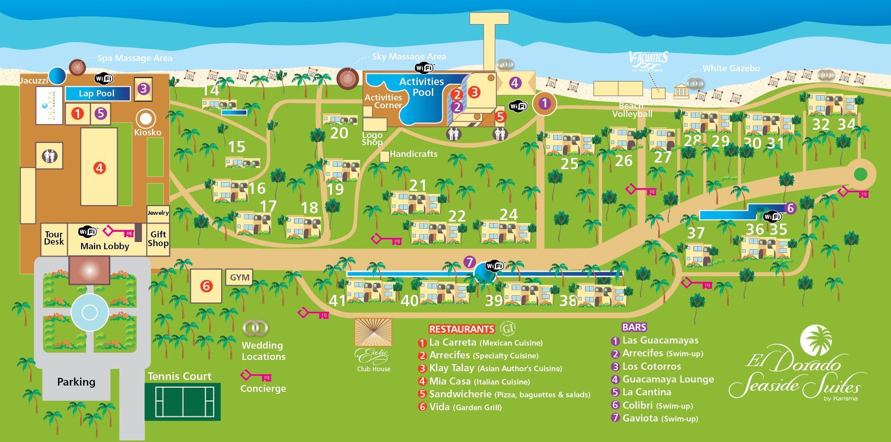 Riviera maya all inclusive resorts and spas those in for Find all inclusive resorts