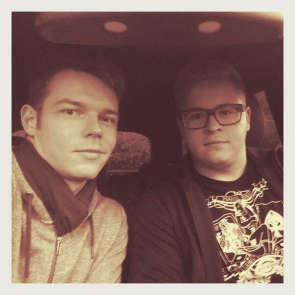 Off To Some Drum Bass Rehearsals Tokio Hotel Drum And Bass Rehearsal