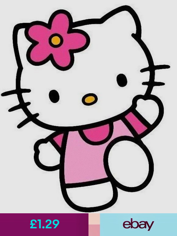 Decorative Decals Ebay Home Furniture Diy Hello Kitty Backgrounds Hello Kitty Coloring Hello Kitty Invitations