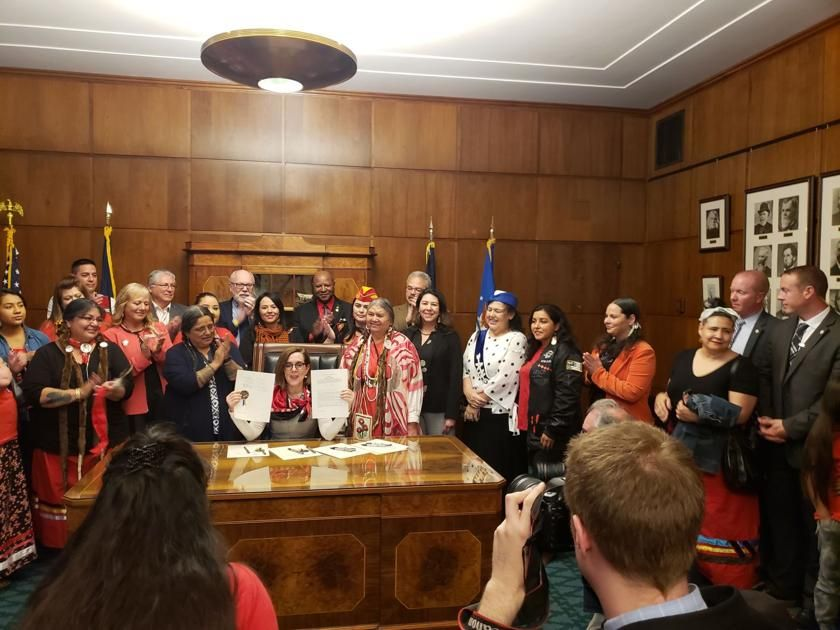 OSU student testifies before State Senate, protects Native