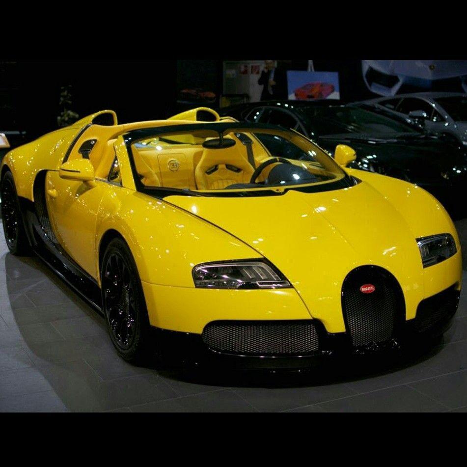 How Do You Like Those Yellow Seats? #bugatti #veyron Grand
