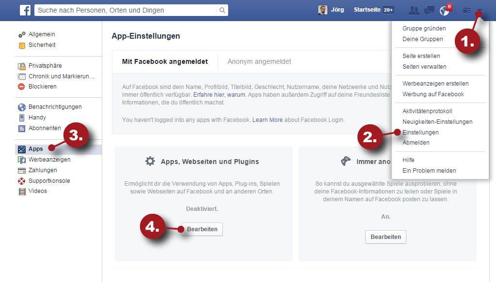 Spieleanfragen Blockieren Facebook