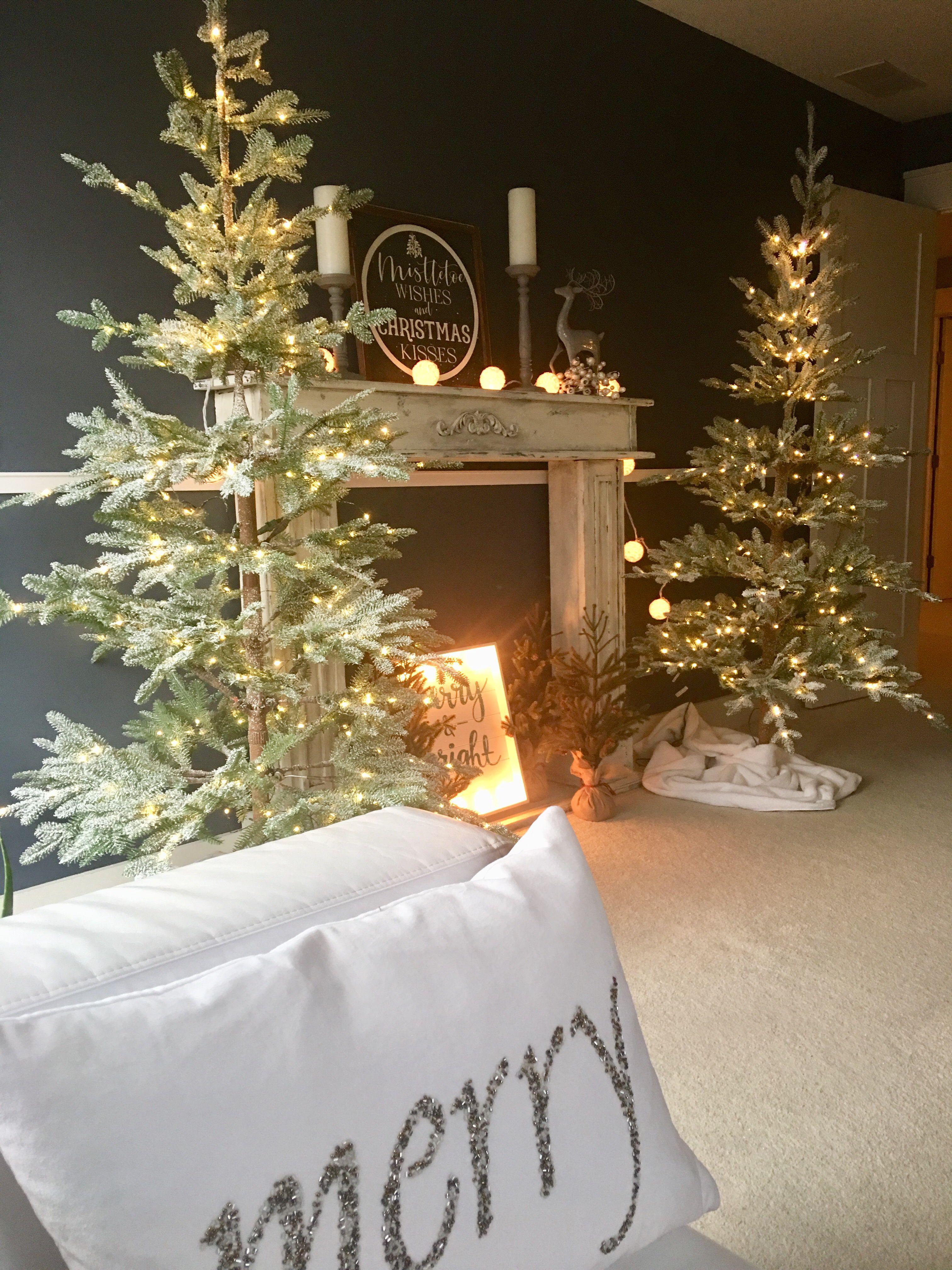 Frosted Alpine Balsam Fir Artificial Christmas Tree Balsam Hill Christmas Tree Decorations Pre Lit Christmas Tree Christmas Decorations