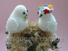 Amigurumi Bird Tutorial : Amigurumi love birds free crochet pattern tutorial crochet