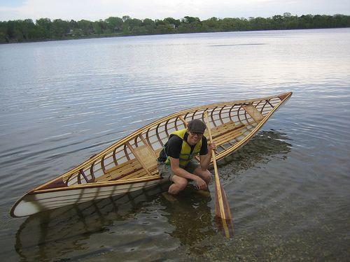 Nice Looking Skin On Frame Canoe Lost Creek Folk School
