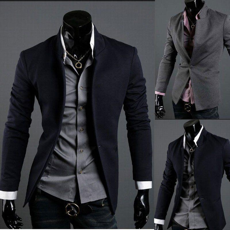 Men Fashion Suit Blazers Korean Formal Dress Hot Coat Pants Vest jacket Slim Fit