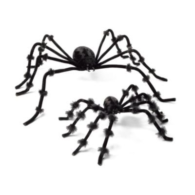 Set of Two Posable Spiders BOO! Pinterest Spider and Halloween - spiders for halloween decorations