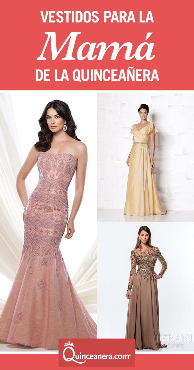 7172699882 Los 10 mejores vestidos para la mamá de la Quinceañera