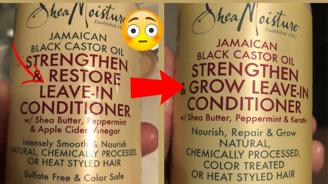 Shea moisture ingredients have changed what did they do