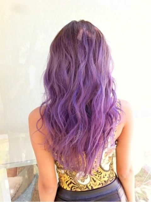 purple hair...I'm doing this