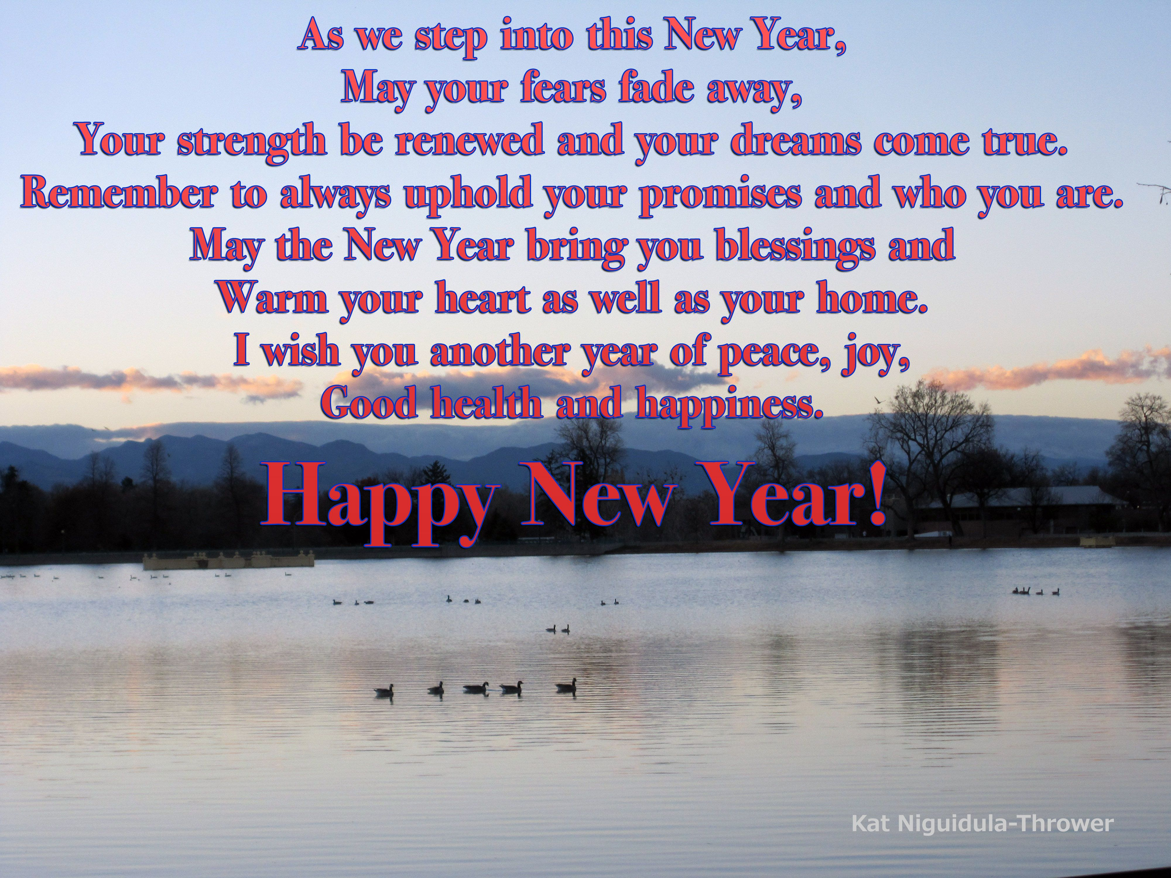 As We Step Into This New Year May Your Fears Fade Away Your