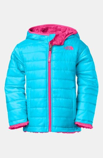 The North Face 'Mossbud Swirl' Reversible Water Repellent Jacket (Toddler Girls) available at #Nordstrom
