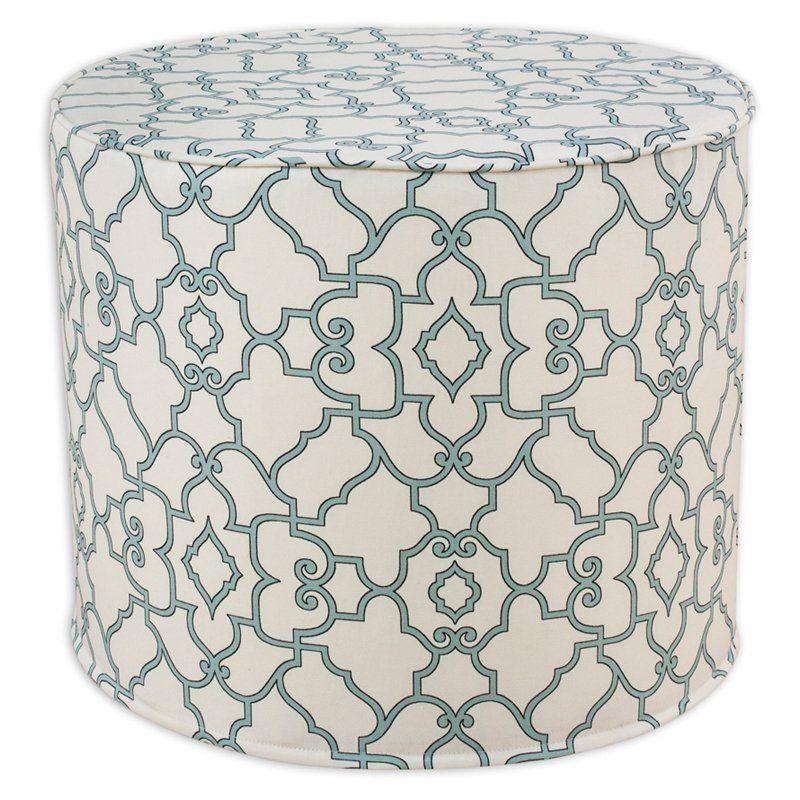 Brite Ideas Decorating Windsor Pouf Ottoman   BE20C3338