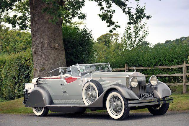 The Factory Experimental and Development Car,1930 Rolls-Royce Phantom II 40/50hp Dual Cowl Sports Phaeton  Chassis no. 25 EX Engine no. UNIT 21
