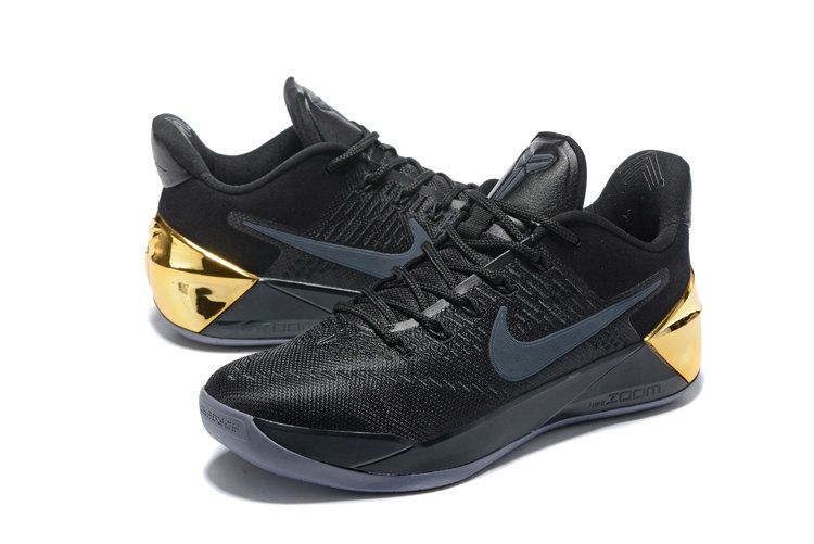cheap for discount 67081 1a4b7 Kobe 12 XII AD 2017 Black Mamba Day Metallic Gold
