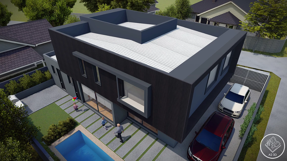Casa Piedra Feliz Estudioa23d Diseño Arquitectonico Arquitectura Arquitectonico