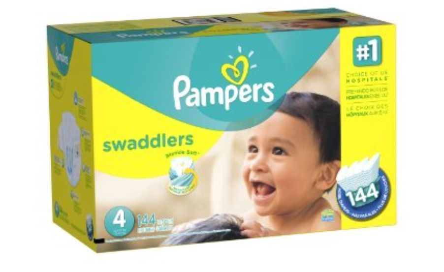 New Pampers Swaddlers Baby Diapers Economy Pack Plus Size ...