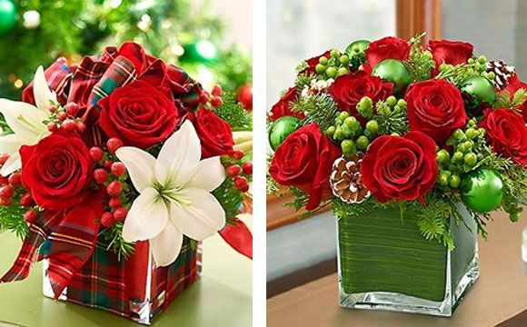 Veja 10 Arranjos De Rosas Vermelhas Para A Mesa De Natal Com