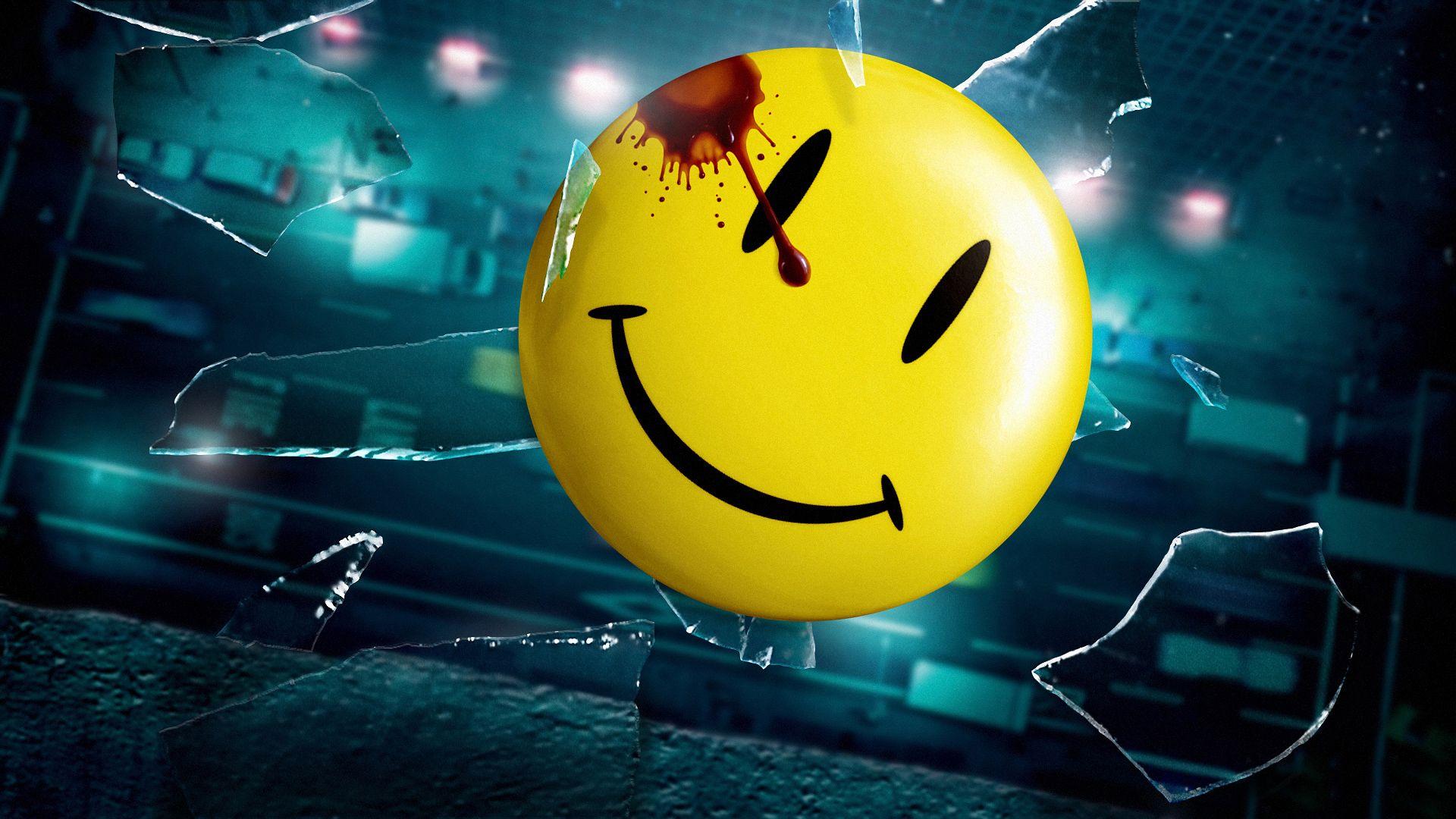 Download smiley face wallpaper hd wallpaper - Hd Wallpapers Watchmen Smiley Hd Wallpaper 2080 Wallpaper Wall Height Com