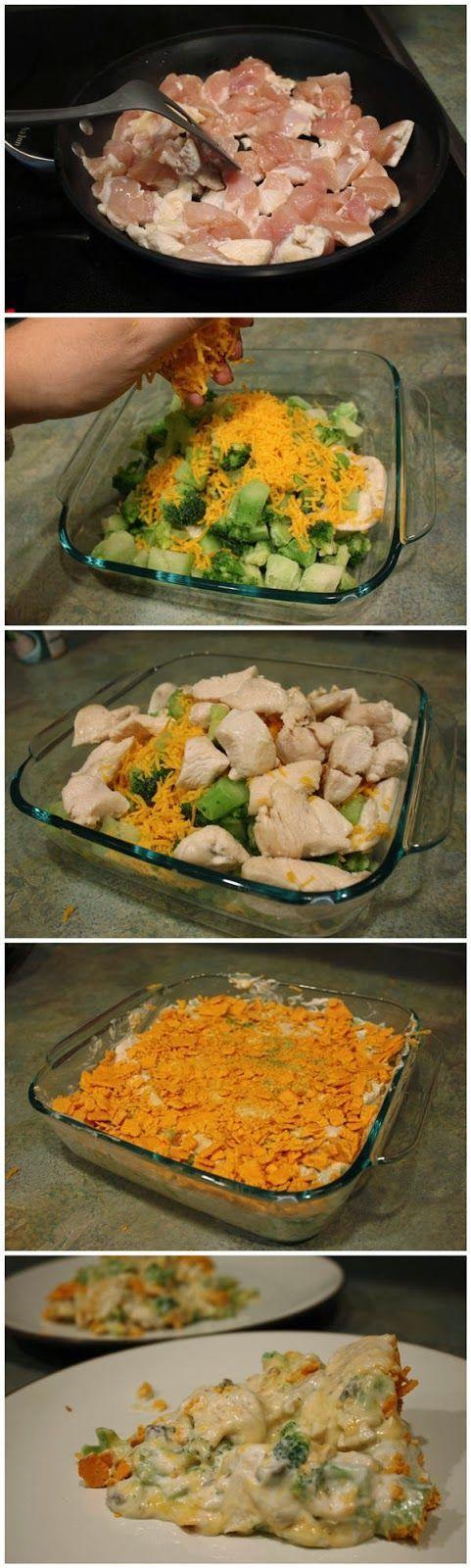 Recipe Skinny Chicken And Broccoli Casserole  Food Worth -5420
