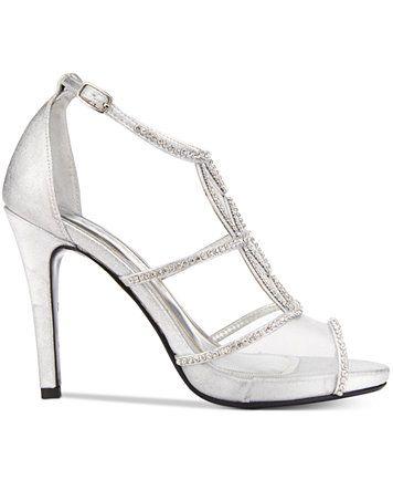 0f48db71029138 Caparros Ellen Peep-Toe Evening Sandals