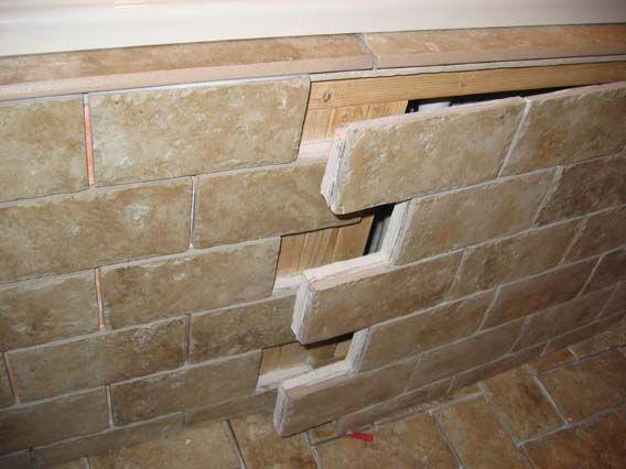 Best tile tub apron access panel ideas  Access Panel Advice   Ceramic Tile  Advice Forums   John Bridge Ceramic Tile. Garden Tub Tile Ideas   RE  Tile or wood for tub surround