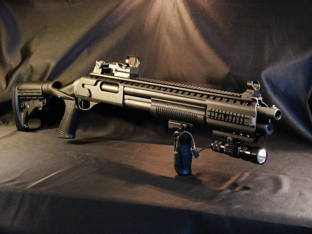 Remington 870/1100 Tactical Rail