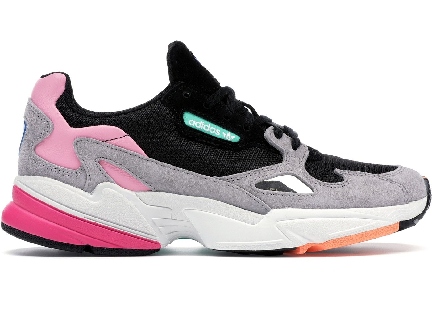 official photos 58165 4bfbb Check out the adidas Falcon Core Black Light Granite available on StockX