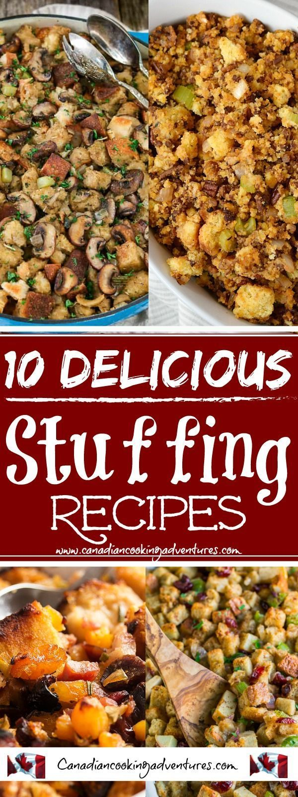 10 Delicious Stuffing Recipes 10 Stuffing Recipes!!