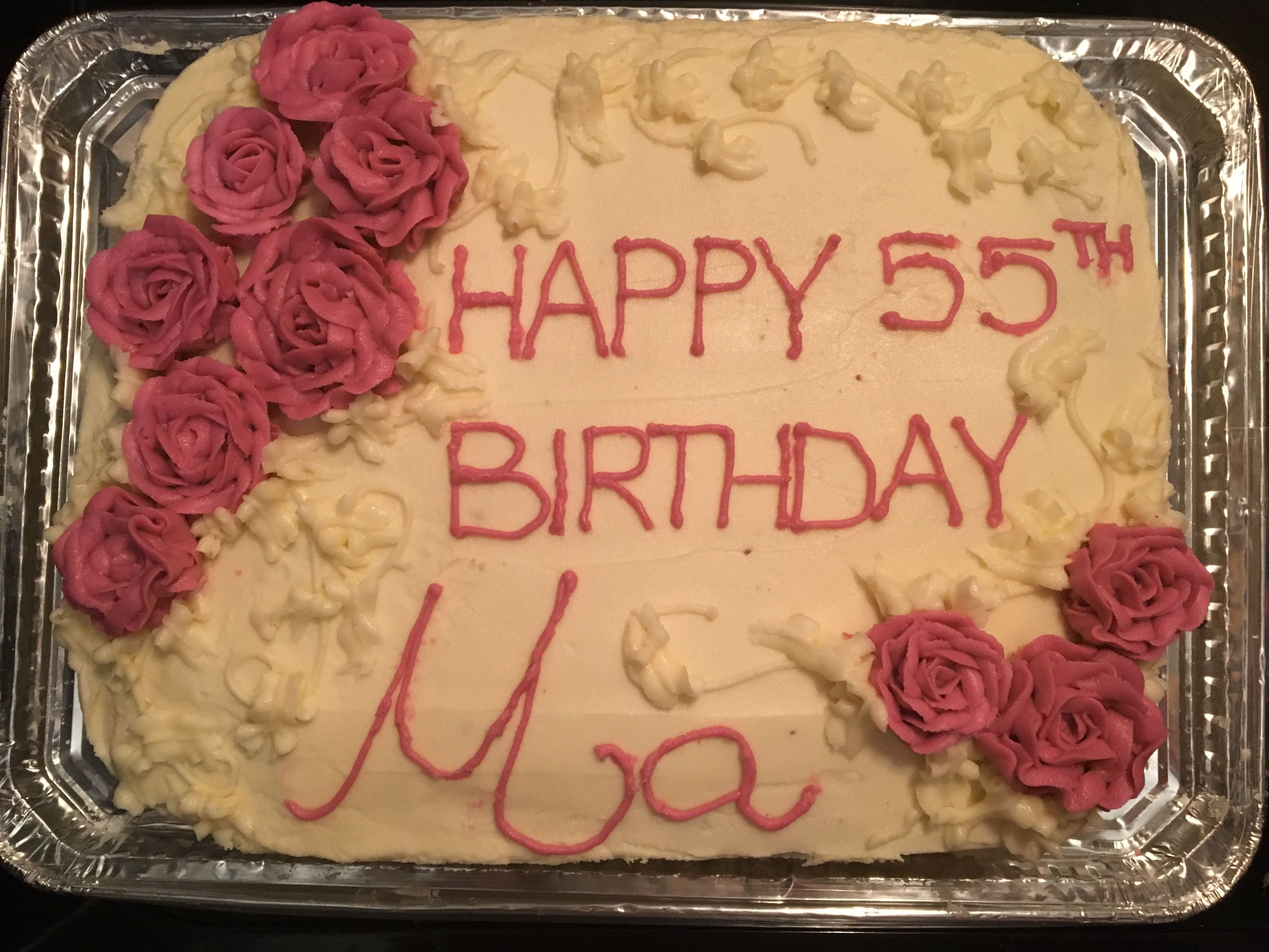10++ 55th birthday cake for mom ideas in 2021
