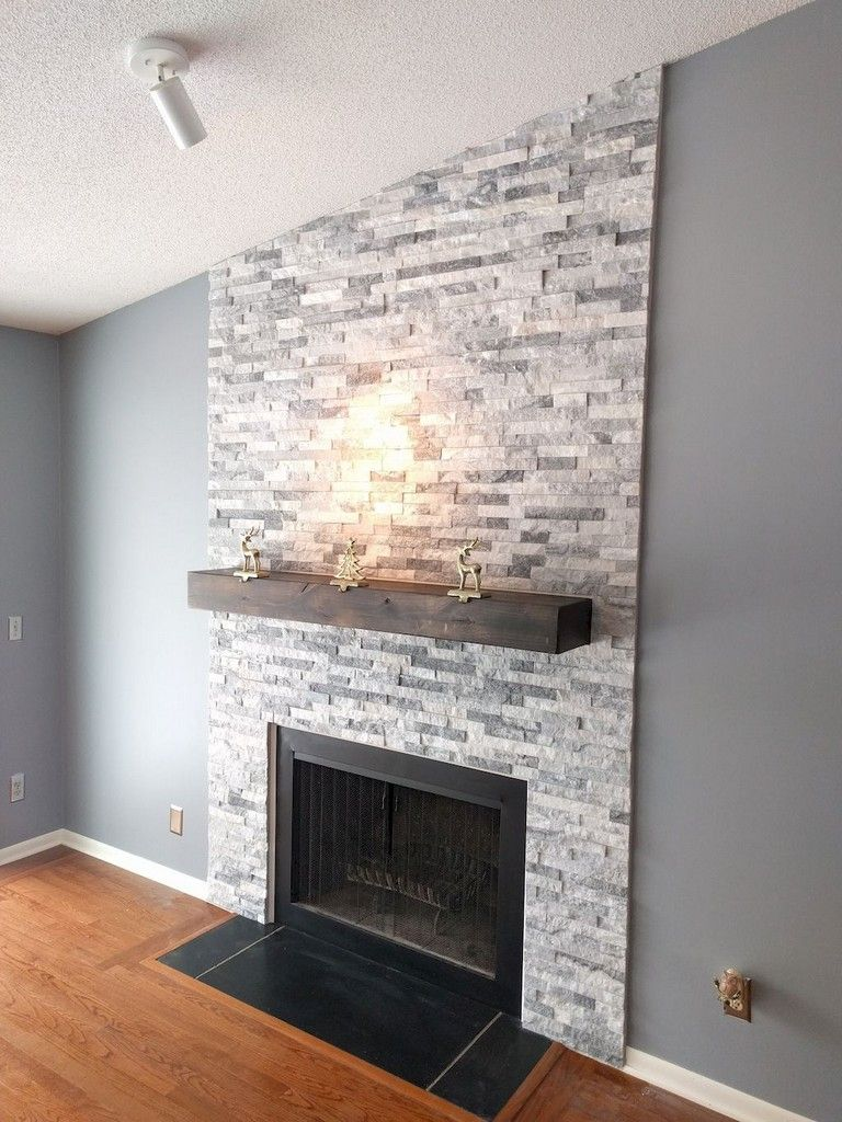83 Creative Fireplace Ideas For Your Living Room Design