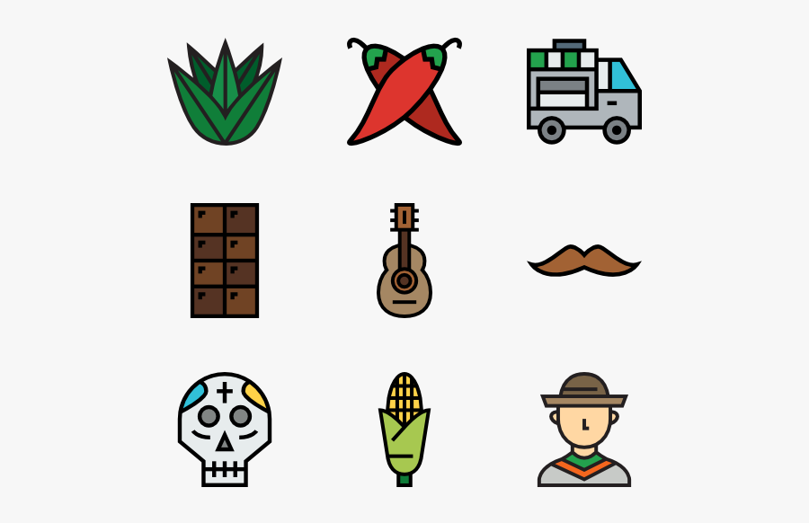 Mexican Elements Mexican Png Mexican Food Icon Png Is A Free Transparent Background Clipart Image Uploaded By Mayumi Nakash Food Icon Png Food Icons Clip Art