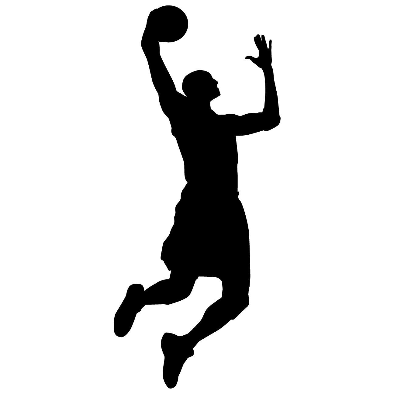 Basketball Wall Decal Sticker 15 Decal Stickers And Mural For Kids Boys Girls Room And Bedroom Spo Basketball Wall Decals Murals For Kids Wall Decal Sticker