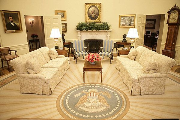 Oval Office Rugs For Presidential Style Oval Office Rugs President George Bush Sunburst Rug Nazmiyal Blog Pinterest Rug And