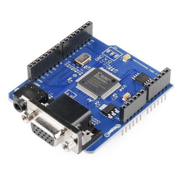 Gameduino - SparkFun Electronics | Electronic kits. Electronics projects. Arduino