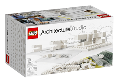 Unfortunately only in white at the moment.  LEGO.com Architecture Architecture Studio - LEGO Architecture Studio