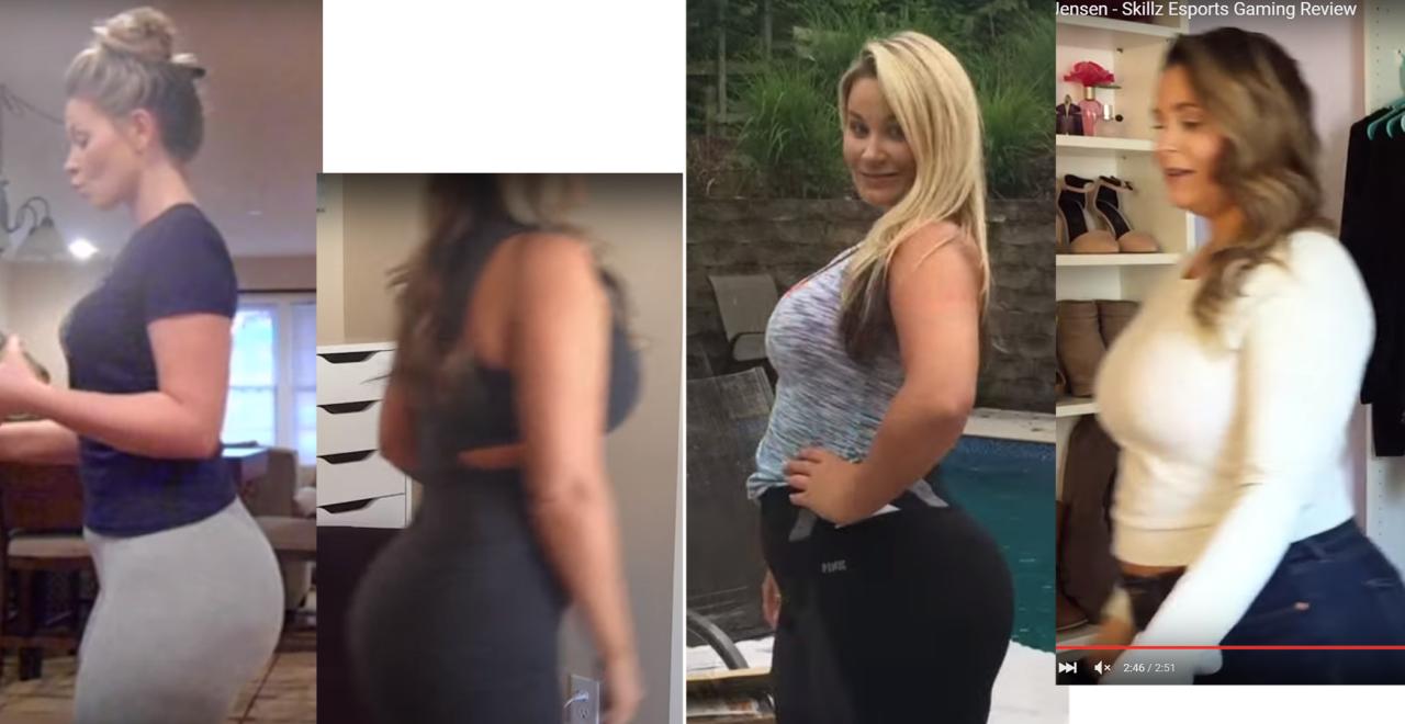 jensen gain Olivia weight