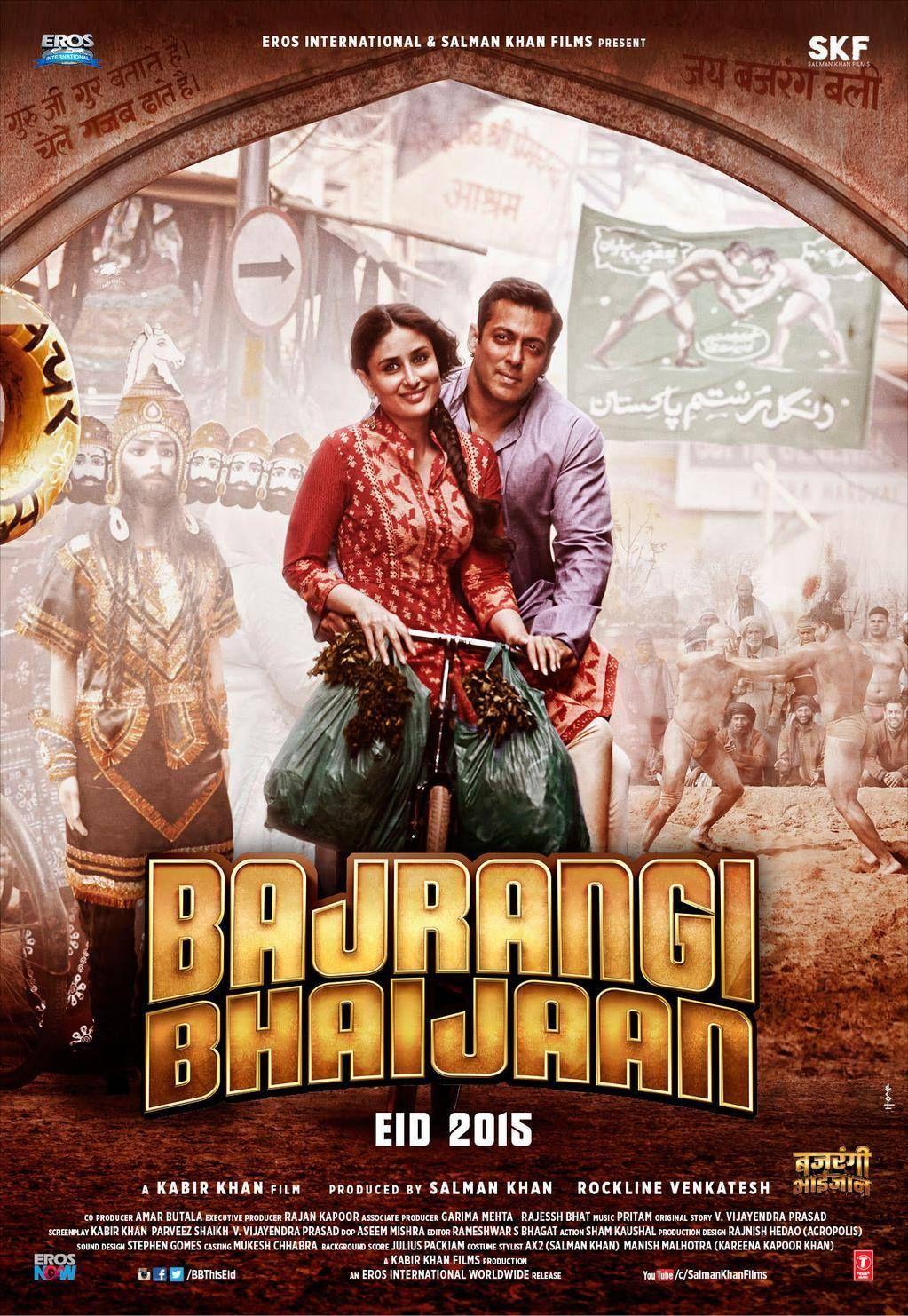 Bajrangi Bhaijaan (2015) Best bollywood movies, Hindi