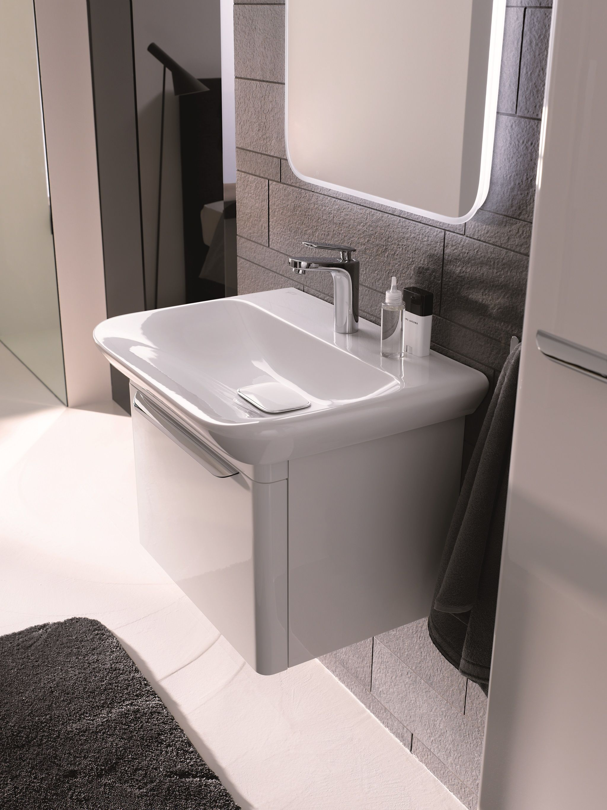 Meuble Salle De Bain Kub ~ combinatie van spiegel wastafel en onderkast voor wastafel uit de
