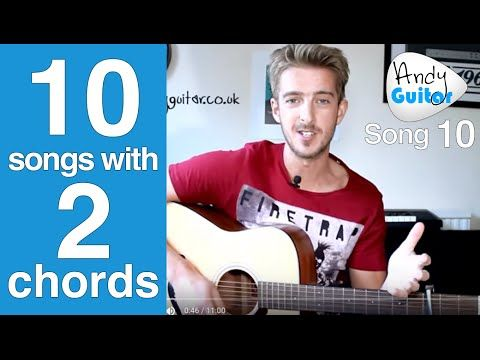 EASY 2 Chord Song #6 | Paperback Writer Beatles (Play TEN guitar ...