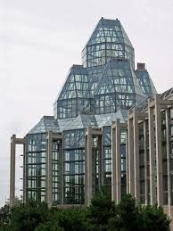 National Gallery of Canada, Ottawa, architect Moshe Safdie