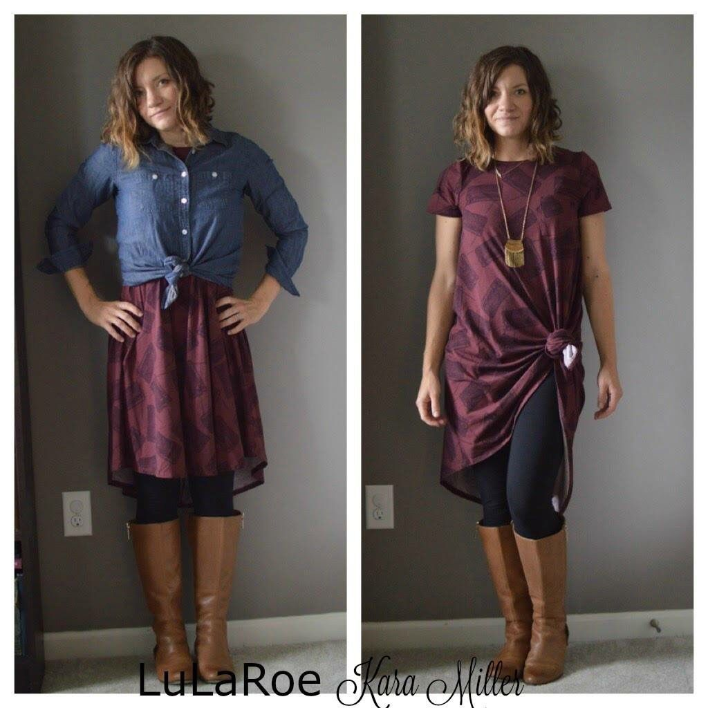 how to wear leggigns with a dress